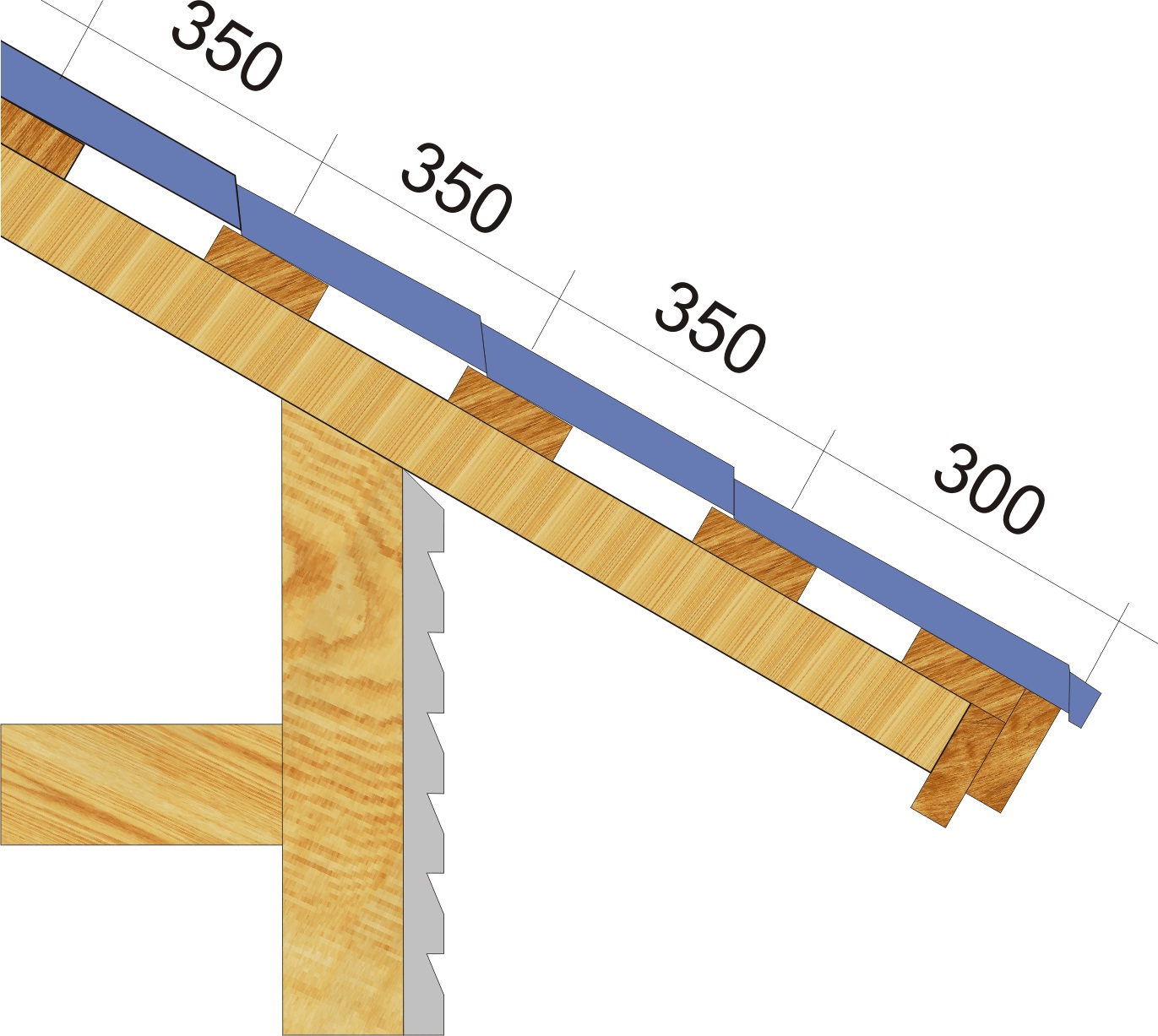Как правильно сделать крышу из металлочерепицы фото 772