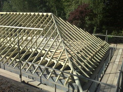 Как построить своими руками вальмовую крышу видео