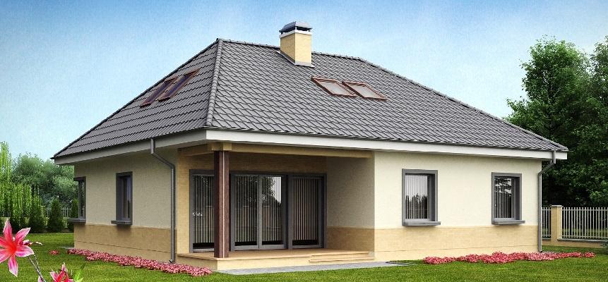 Четырёхскатная крыша фото