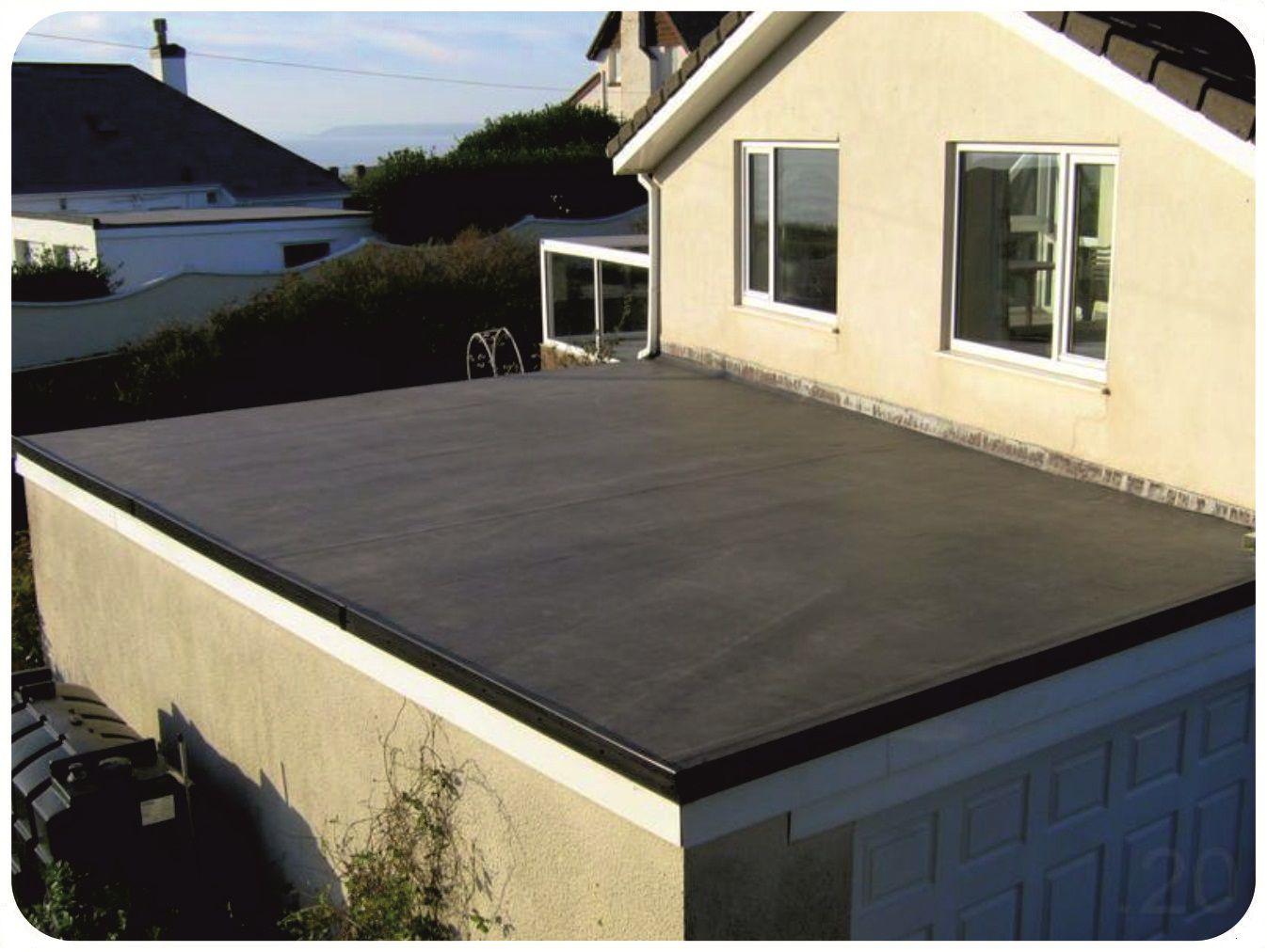 конструктивная схема плоской крыши