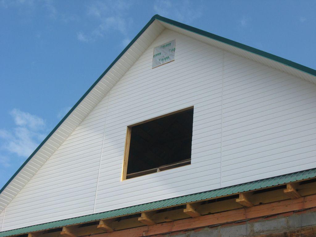 Двухскатная крыша своими руками фронтон