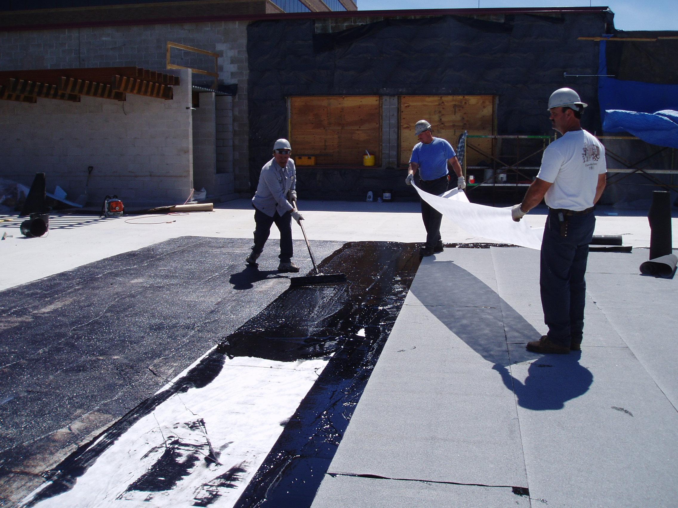 Мастика для изготовления кровли гаража техкарта гидроизоляция бетонных конструкций